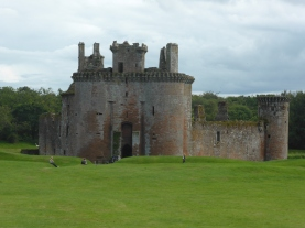 Caerverlock Castle Dumfries